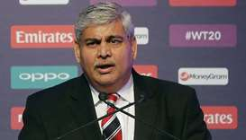 Chairman of International Cricket Council Shashank Manohar. (Reuters)