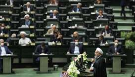 Rouhani seeks co-operation from MPs as parliament opens