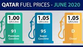 No change in fuel prices for June