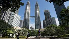 Malaysia reopens majority of businesses after a shutdown to fight the coronavirus disease COVID-19 o