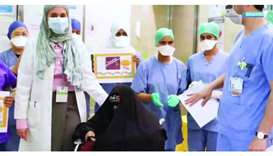 85-year-old Qatari woman cured of Covid-19