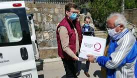 Qatar Charity's efforts in Kosovo.