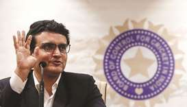 India's cricket chief Sourav Ganguly