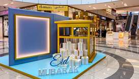 DHFC will display Eid al-Fitr greeting message on all digital screens, as well as several installati
