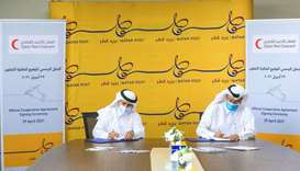 QRCS, Qatar Post sign pact to co-operate for social good