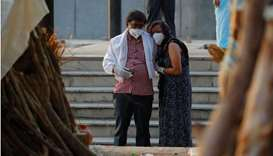 India's seven-day Covid average at new high, WHO issues warning on strain