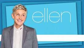 A promotion photo of 'The Ellen DeGeneres Show'.