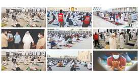 Eid al-Fitr prayers offered while adhering to preventive measures