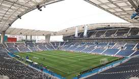 The Champions League final on May 29 has been switched to the Estadio do Dragao to allow English spe