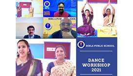 A dance workshop was conducted recently by the music and dance department of Birla Public School (BP