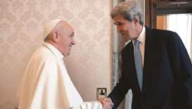 US envoy wants Pope to attend climate conference
