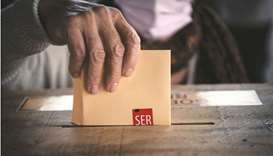 Chileans vote for body to rewrite constitution