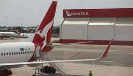 First Australian repatriation flight from India lands in Darwin.