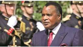 Republic of Congo's President Denis Sassou Nguesso.