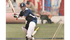 Record-breaking Indian batsman Sachin Tendulkar