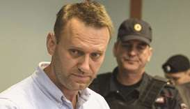 Navalny: serving two-and-a-half years on embezzlement charges in a penal colony.