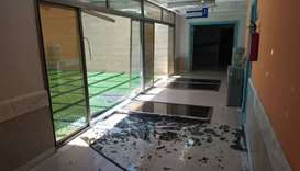 Israeli bombing caused damages for Sheikh Hamad Bin Khalifa Al Thani Hospital for Rehabilitation and