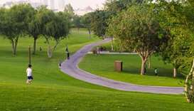 Katara is a unique destination that also boasts of plenty of green spaces. PICTURES: Jayan Orma