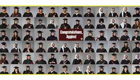 Tamuq graduates 107 engineers in Class of 2021.