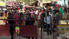 Record jump in virus cases signals impending crisis in Nepal