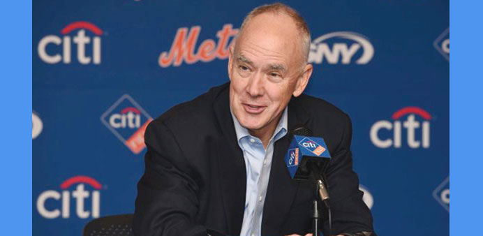 Alderson tasked with keeping Mets at National level