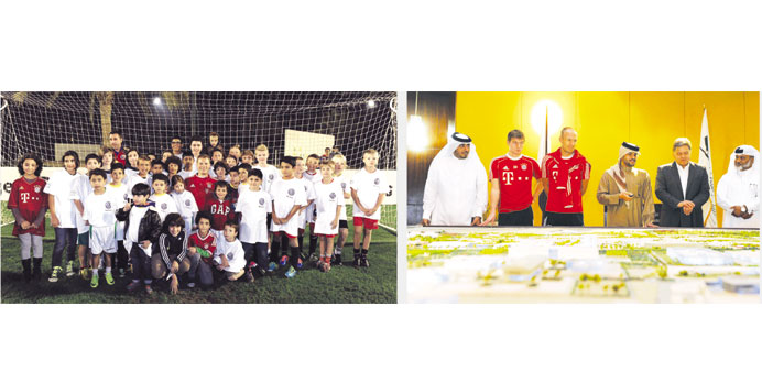 Bayern Munich's winter training camp in Doha a big draw with fans