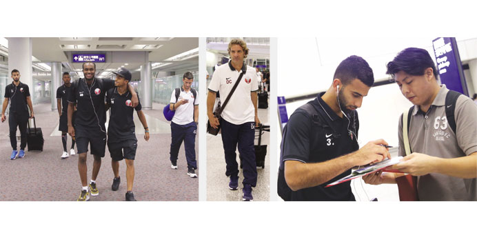 QATAR NATIONAL TEAM ARRIVE IN HONG KONG FOR WORLD CUP QUALIFIER