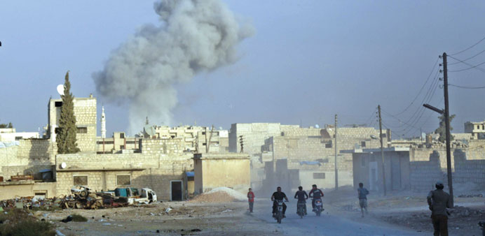 Russia offers air cover for Syria rebels, calls for polls