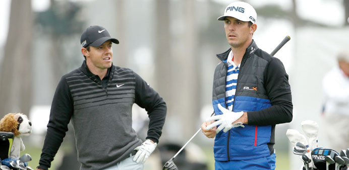McIlroy fights back, Spieth out at WGC