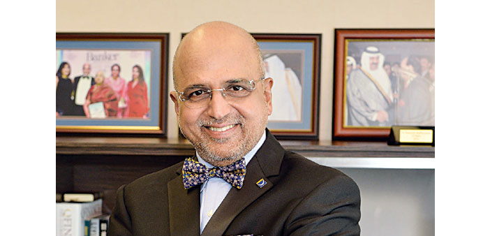 Dr R Seetharaman is Group CEO of Doha Bank.