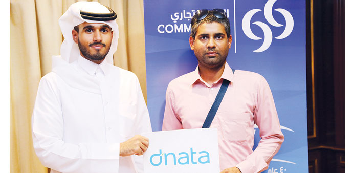 Winners of the Commercial Bank's summer campaign are rewarded with travel vouchers worth QR15,000.