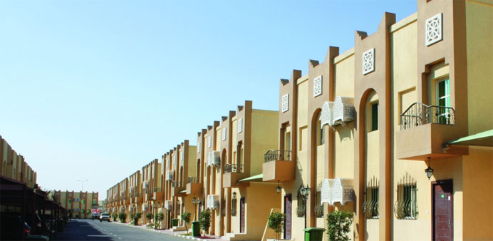 A view of one of the Ezdan residential compounds.
