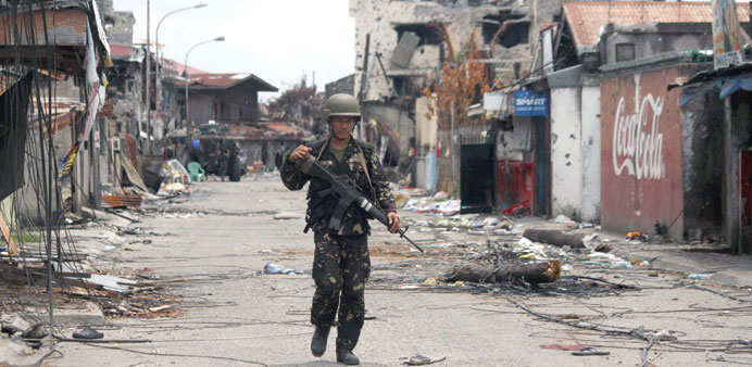 Govt says military campaign in key city 'over'
