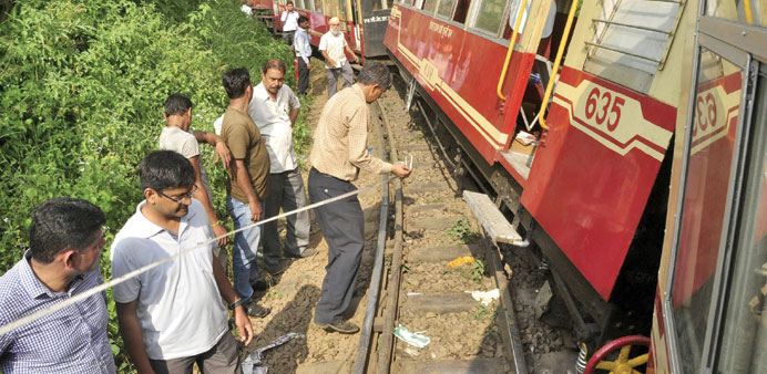 Two Britons killed as 'toy train' derails near Shimla