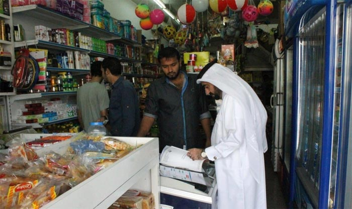 Action against shops violating licensing rules