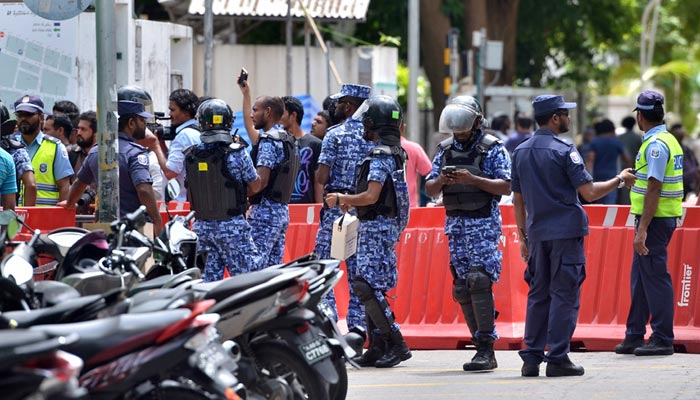 Maldives president says arrested deputy is threat to national security