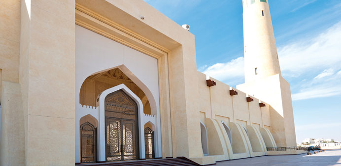 Serene: The beautiful Masjid Abdul Wahab.