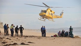 Man loses leg in Australia shark attack