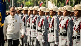 Outgoing president warns Philippines about spectre of martial law