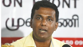 Activists press for ouster of Lankan central bank chief