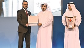 Alfardan Group takes part in HMC honouring ceremony