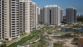 Rio athletes' village unveiled in front of IOC chief