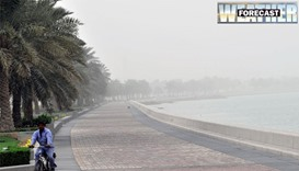 Light rain reported in some parts of Qatar