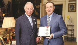 Spacey honoured