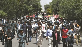 Protest over kidnapping