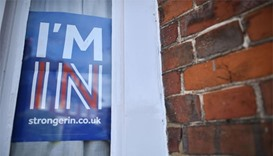 Britain's rival EU campaigns restart as polls show momentum for 'In'