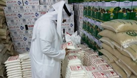 MEC inspection at foodstuff storehouses.