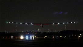 Solar Impulse 2 leaves New York, begins Atlantic crossing