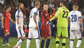 Frustrated England progress after Slovakia draw
