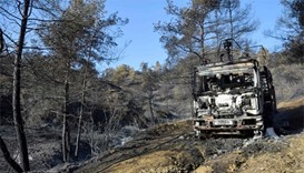 Firefighters killed tackling huge Cyprus forest blaze